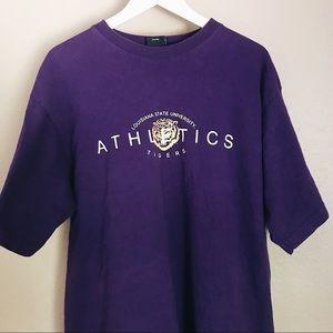 Vintage Louisiana State University Athletics Tee